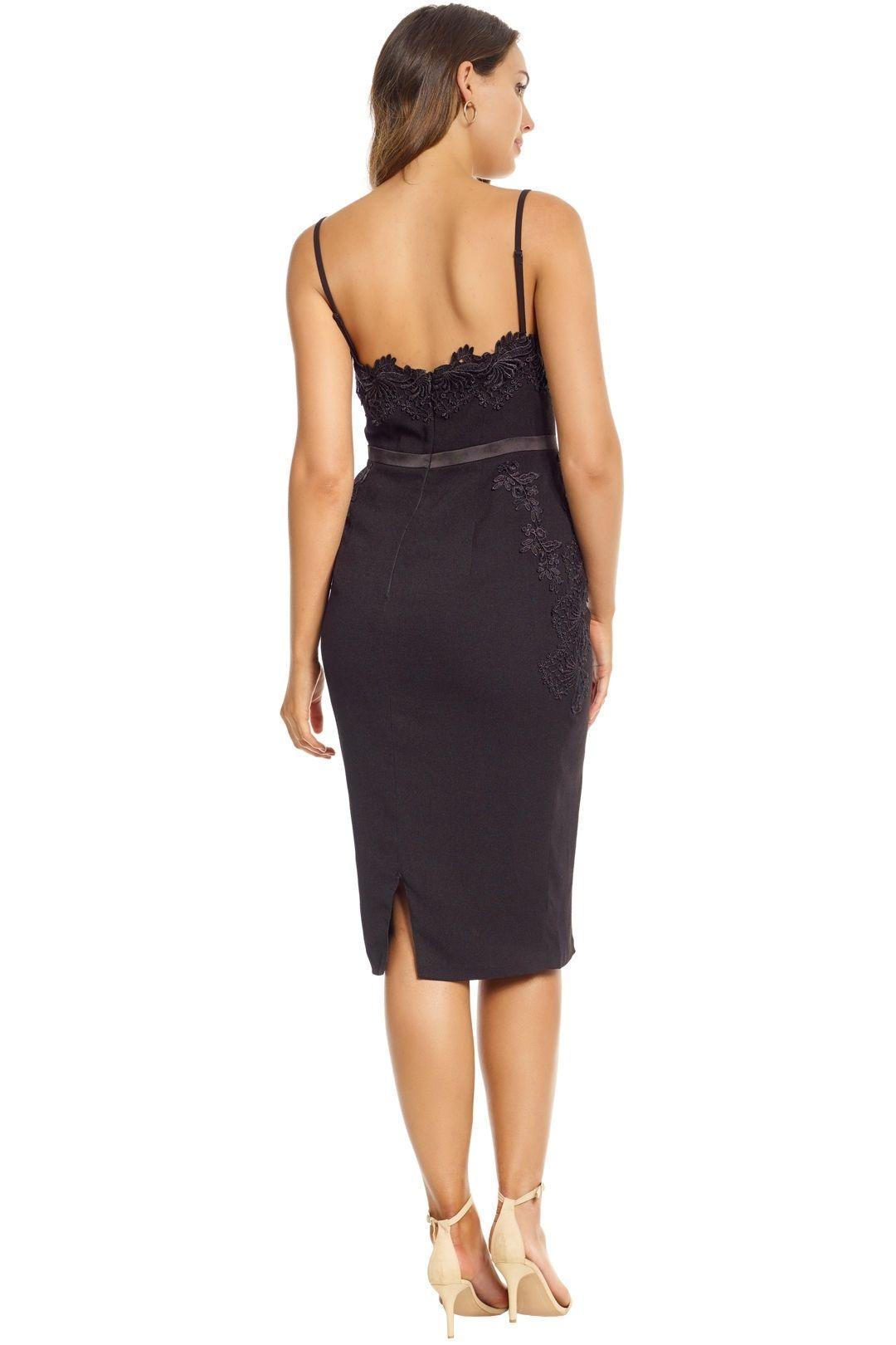 Elle Zeitoune - Black Madeline Dress - Black - Back