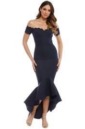 Elle Zeitoune - Camille Dress - Navy - Front