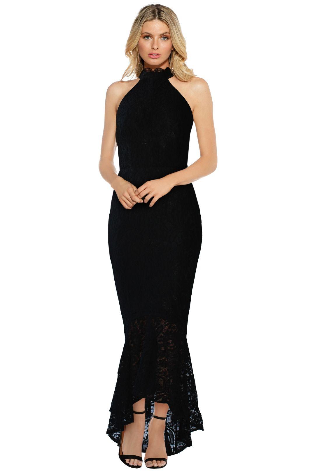 Elle Zeitoune - Mirabella Gown - Black - Front