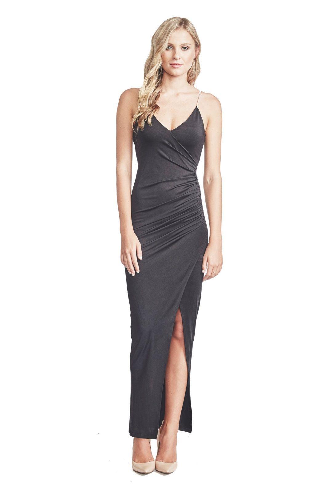 Elle Zeitoune - Willa Dress - Black - Front