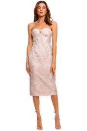 Elle Zeitoune Brooklyn Bustier Dress knee length