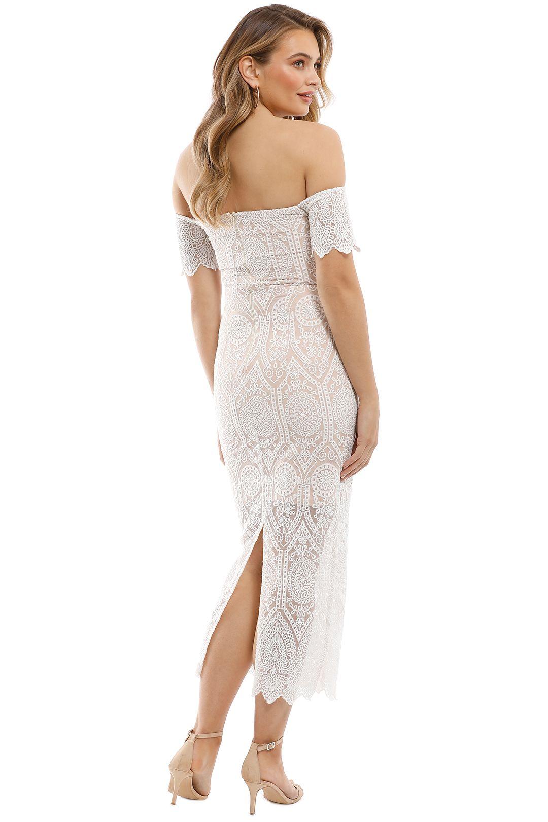 Elle Zeitoune - Emmanuelle Dress - White - Back