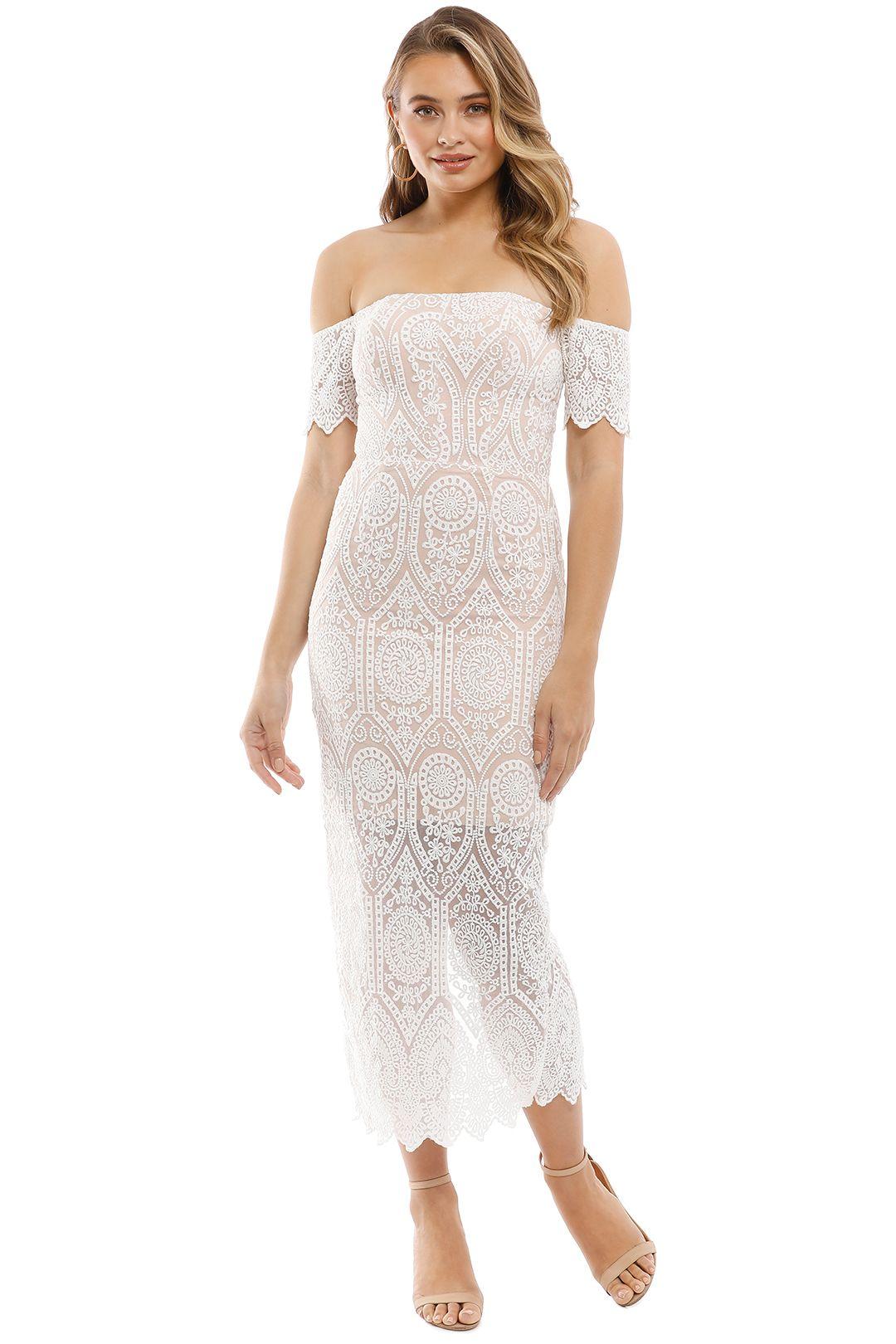 Elle Zeitoune - Emmanuelle Dress - White - Front