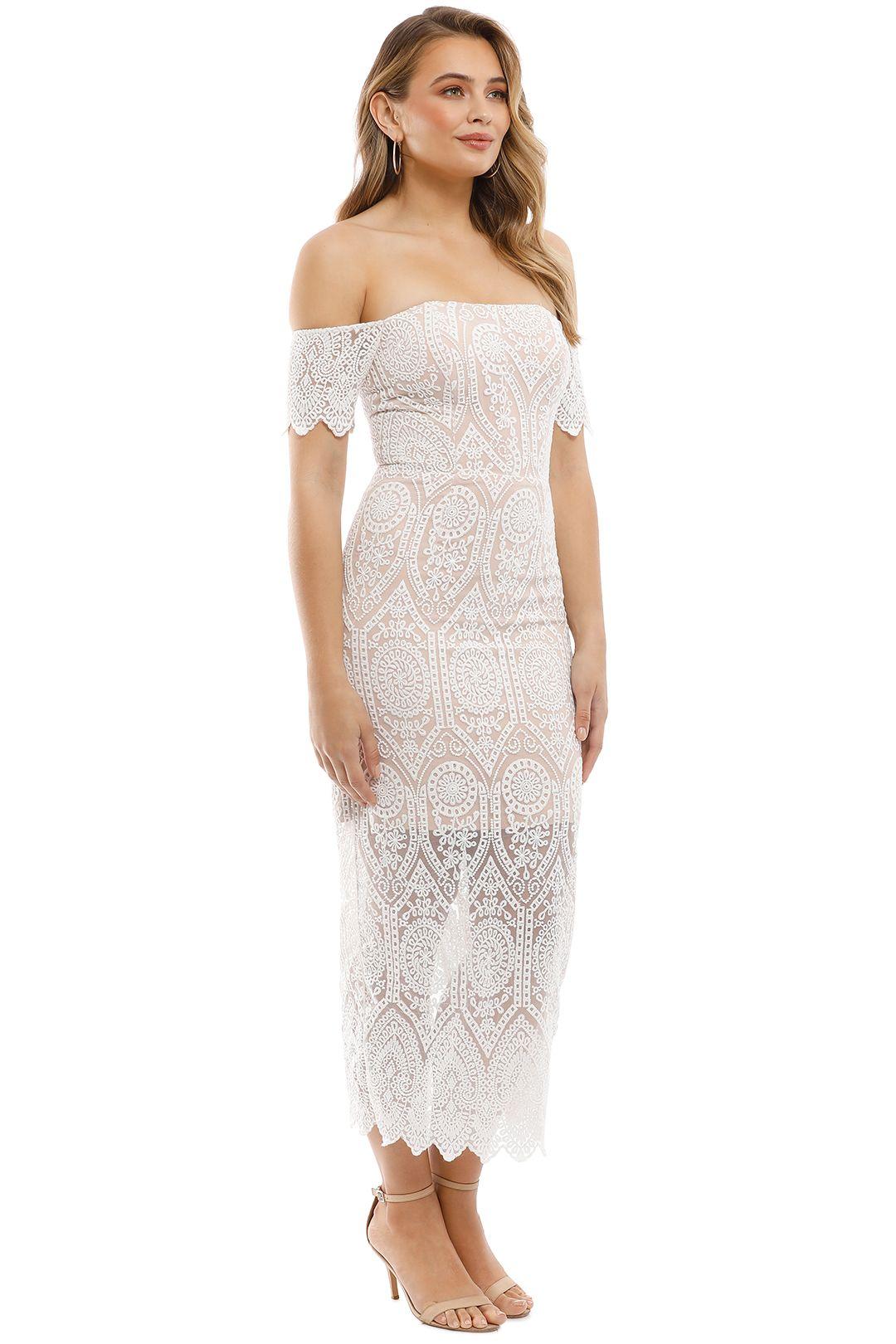 Elle Zeitoune - Emmanuelle Dress - White - Side