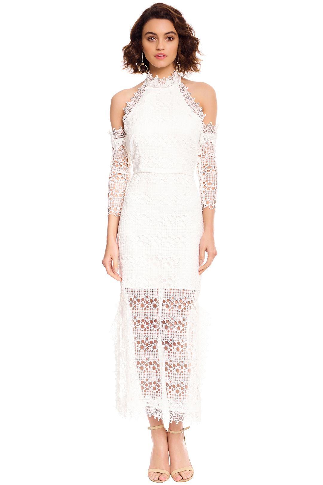 Elliatt - Ensemble Dress - White - Front