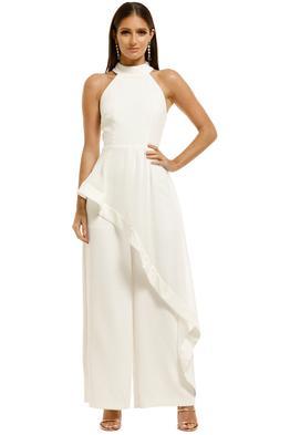 Elliatt-Adeline-Jumpsuit-White-Front