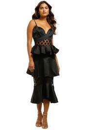 Elliatt-Aleko-Dress-Black-Front