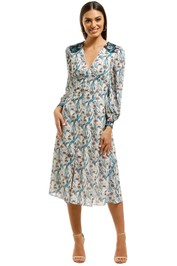 Elliatt-Alessandra-Dress-Blue-Front
