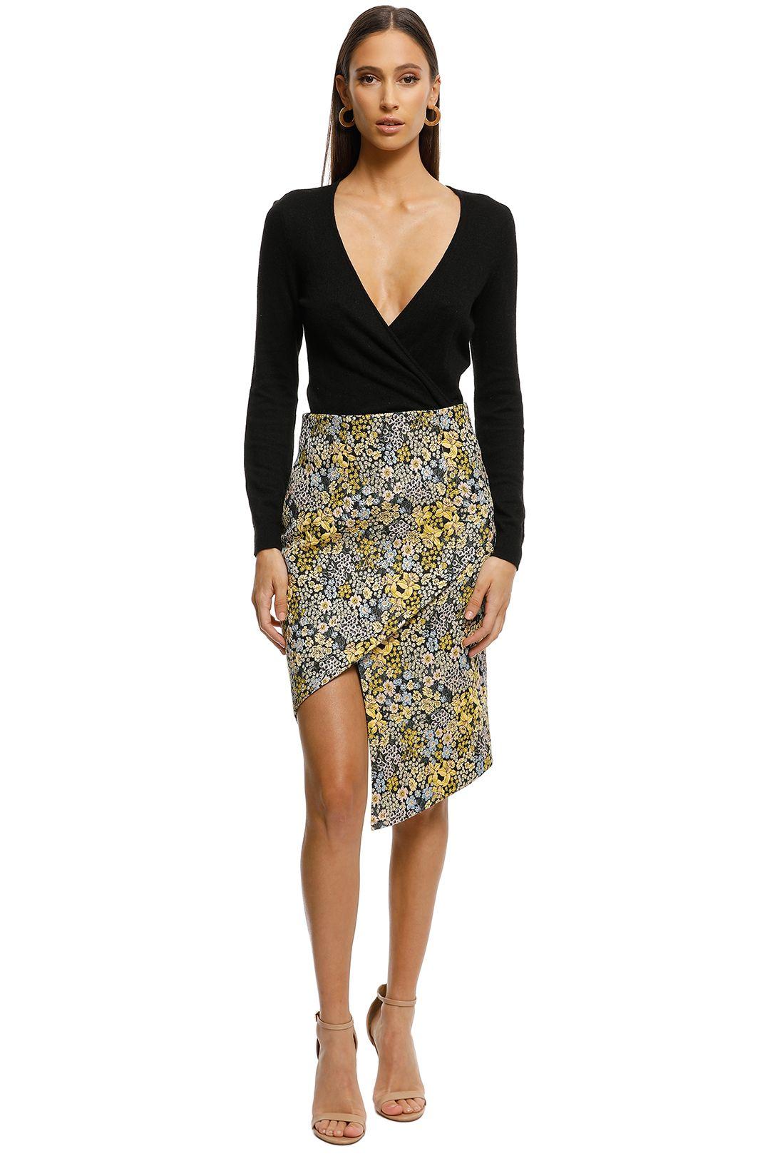 Elliatt-Alessia Skirt-Yellow-Front
