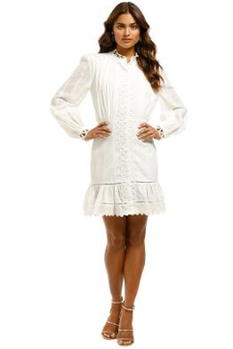 Elliatt-Azure-Dress-White-Front