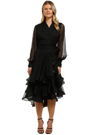 Elliatt-Cuba-Dress-Black-Front