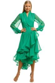 Elliatt-Cuba-Dress-Emerald-Front