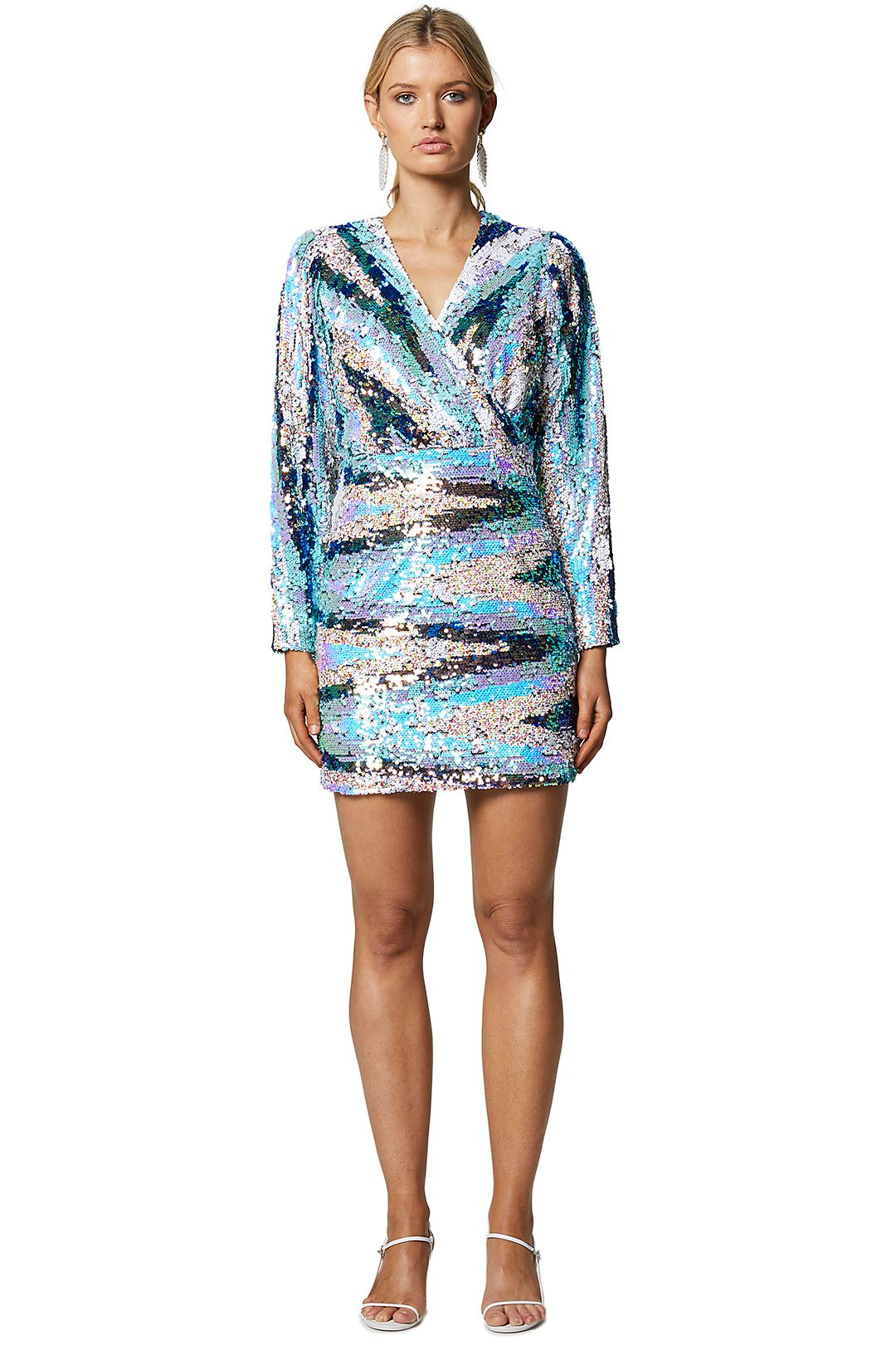 Elliatt-Duet-Dress-Multi-Front