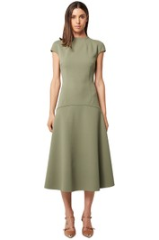 Elliatt-Future-Dress-Khaki-Front