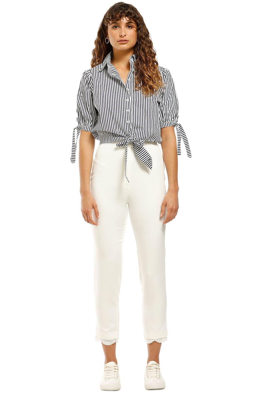 Elliatt-Honeymoon-Pant-White-Front