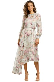 Elliatt-Karishma-Dress-Multi-Front