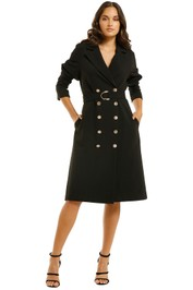 Elliatt-Lolite-Trench-Black-Front