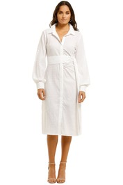 Elliatt-Payton-Dress-White-Front
