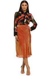 Elliatt-Serendipity-Skirt-Rust-Front