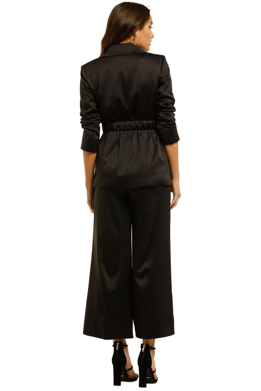 Elliatt-Shimmer-Blazer-and-Pant-Set-Black-Back