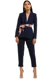 Elliatt-Skyla-Blazer-and-Pant-Set-Ink-Multi-Front