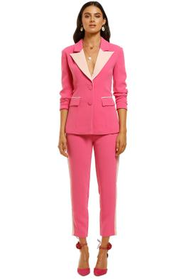 Elliatt-Star-Blazer-Hot-Pink-Front