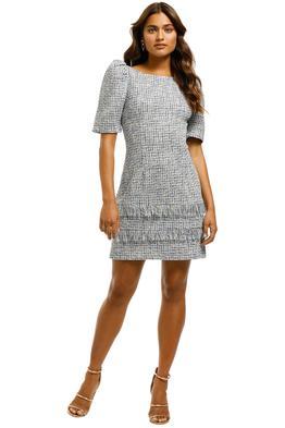 Elliatt-Stella-Dress-Multi-Blue-Front