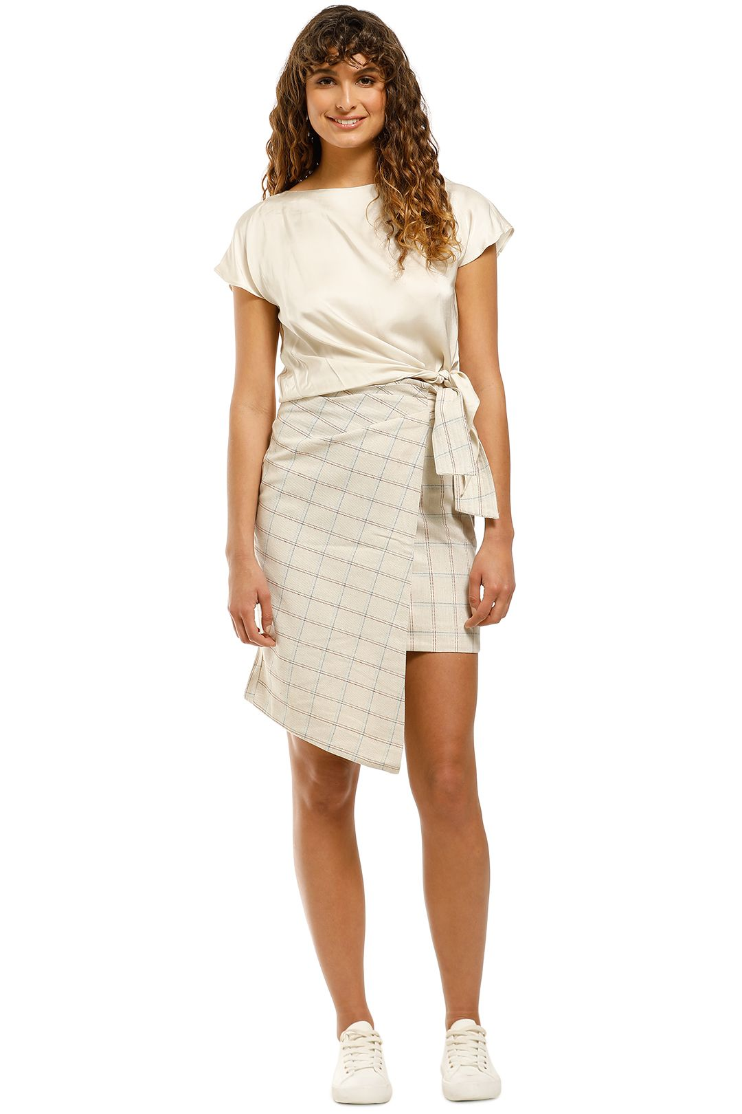 Elliatt-Success-Skirt-Sand-Front