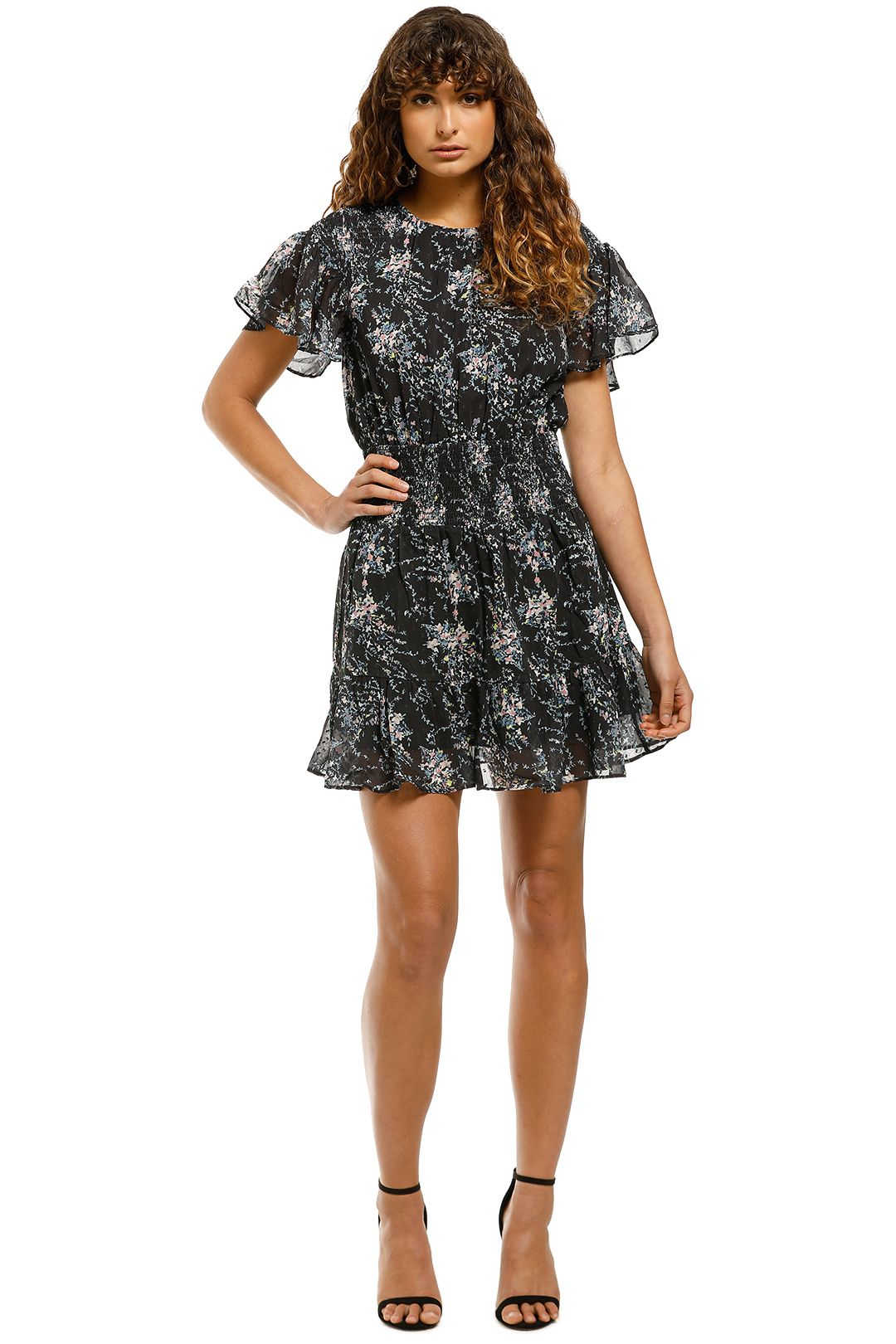 Elliatt-Wish-Dress-Navy-Front