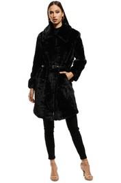 Elliatt - Bespoke Coat - Black - Front