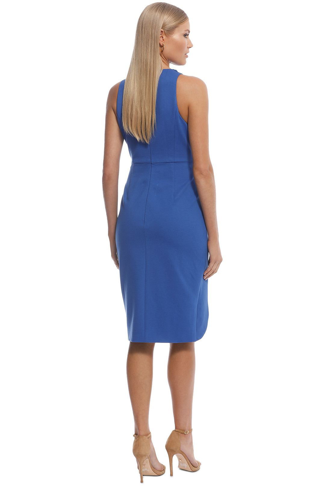 Elliatt - Carmen Dress - Cobalt - Back
