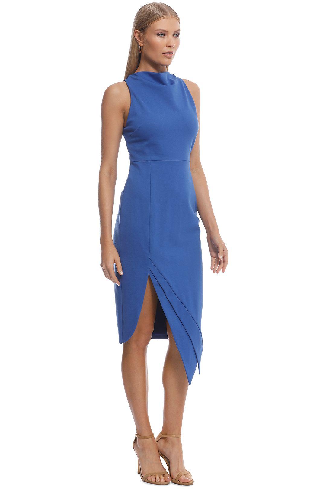 Elliatt - Carmen Dress - Cobalt - Side