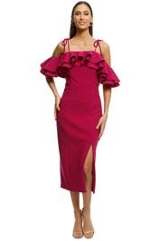 Elliatt - Central Dress - Orchid - Front