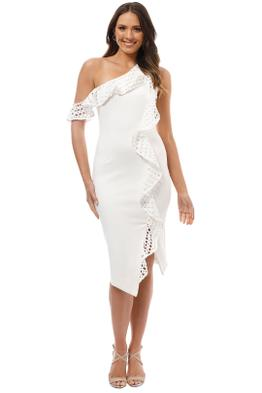 Elliatt - Crystal Dress - White - Front