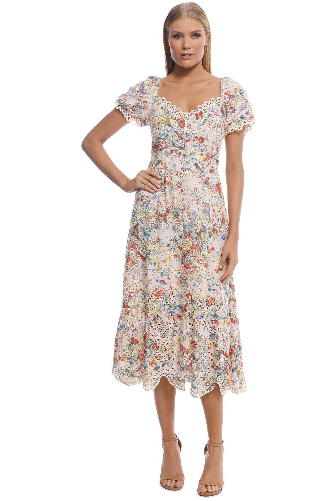Elliatt - Faith Dress - Pink Floral - Front