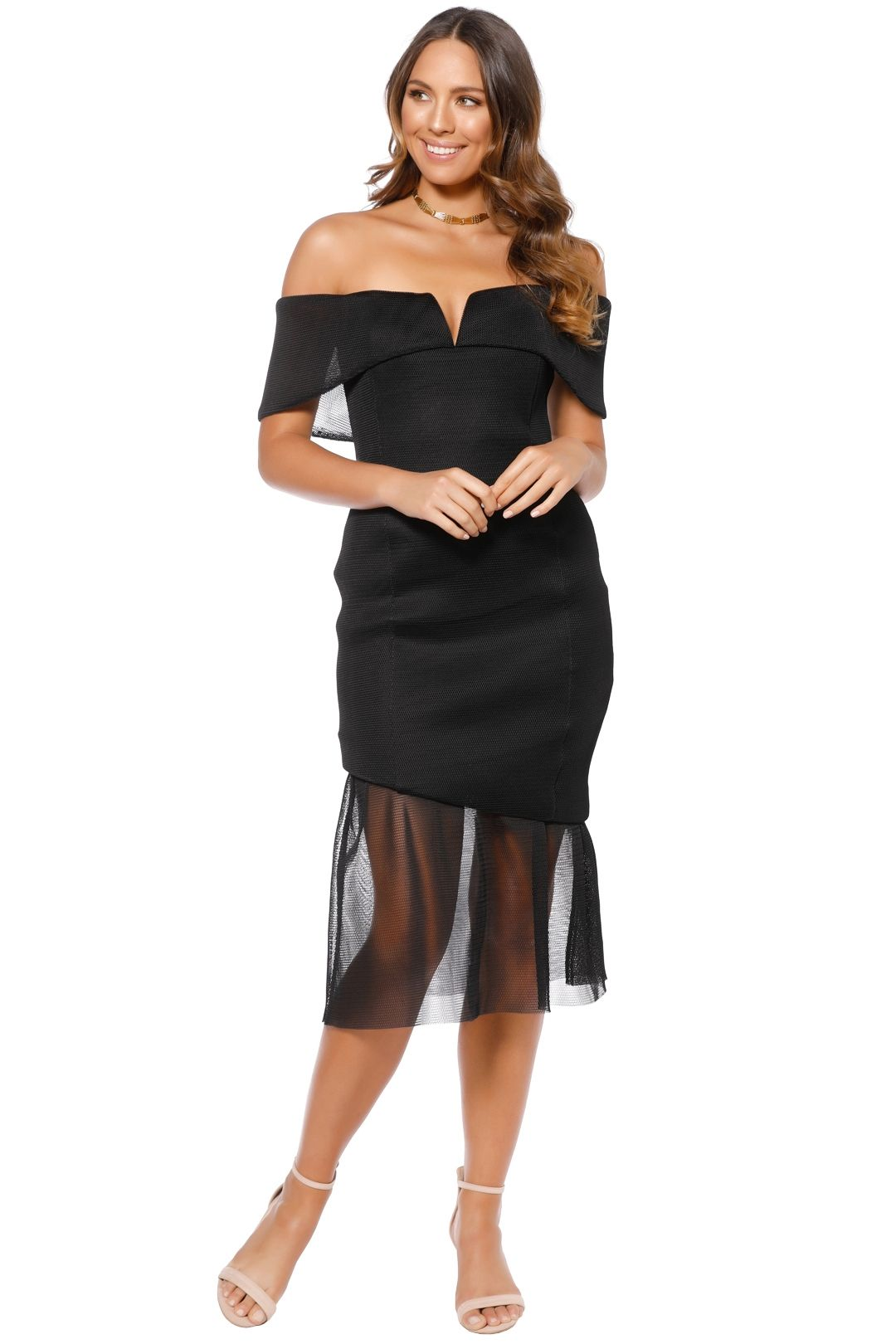 Elliatt - Fate Dress - Black - Front