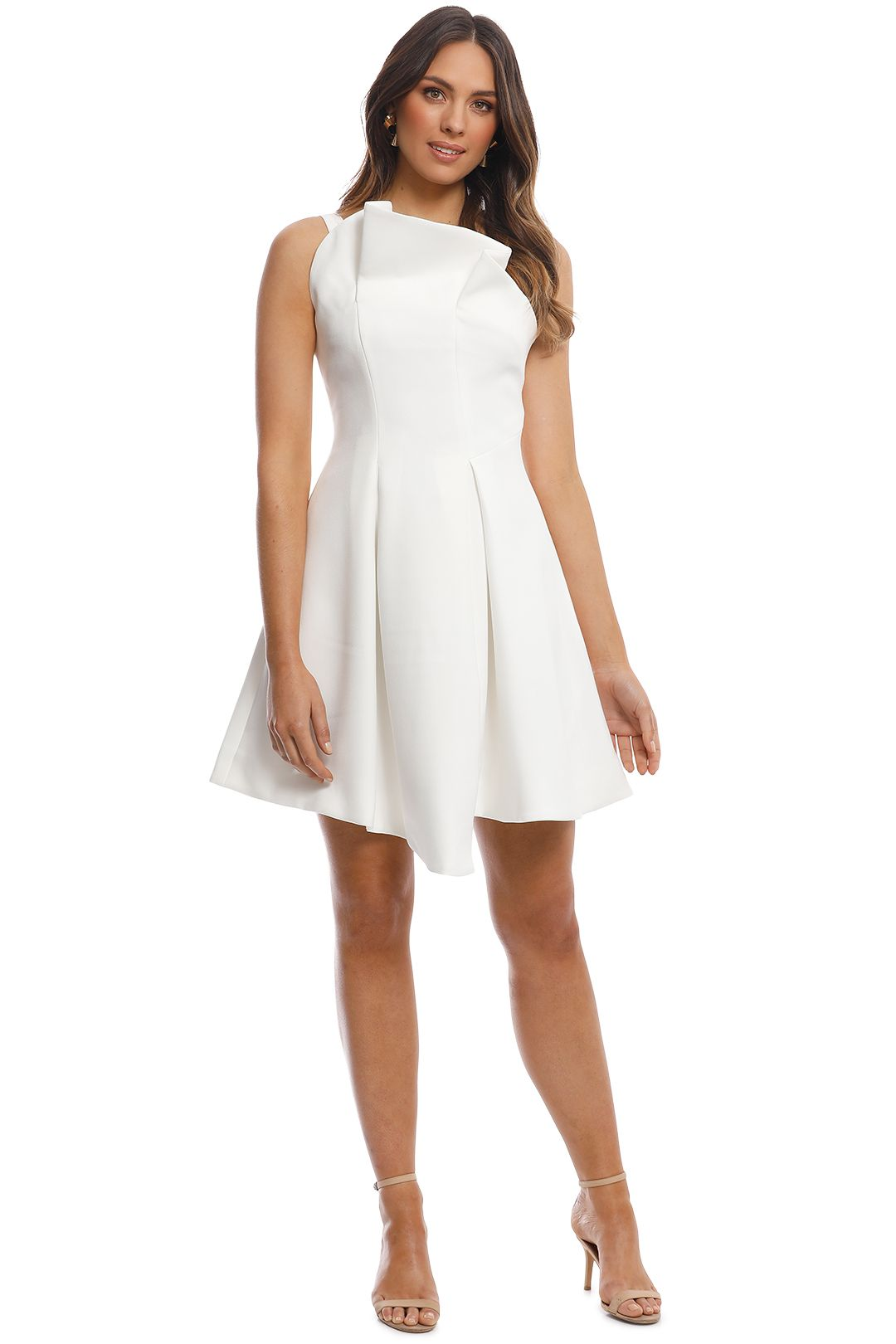 Elliatt - Frida Dress - White - Front