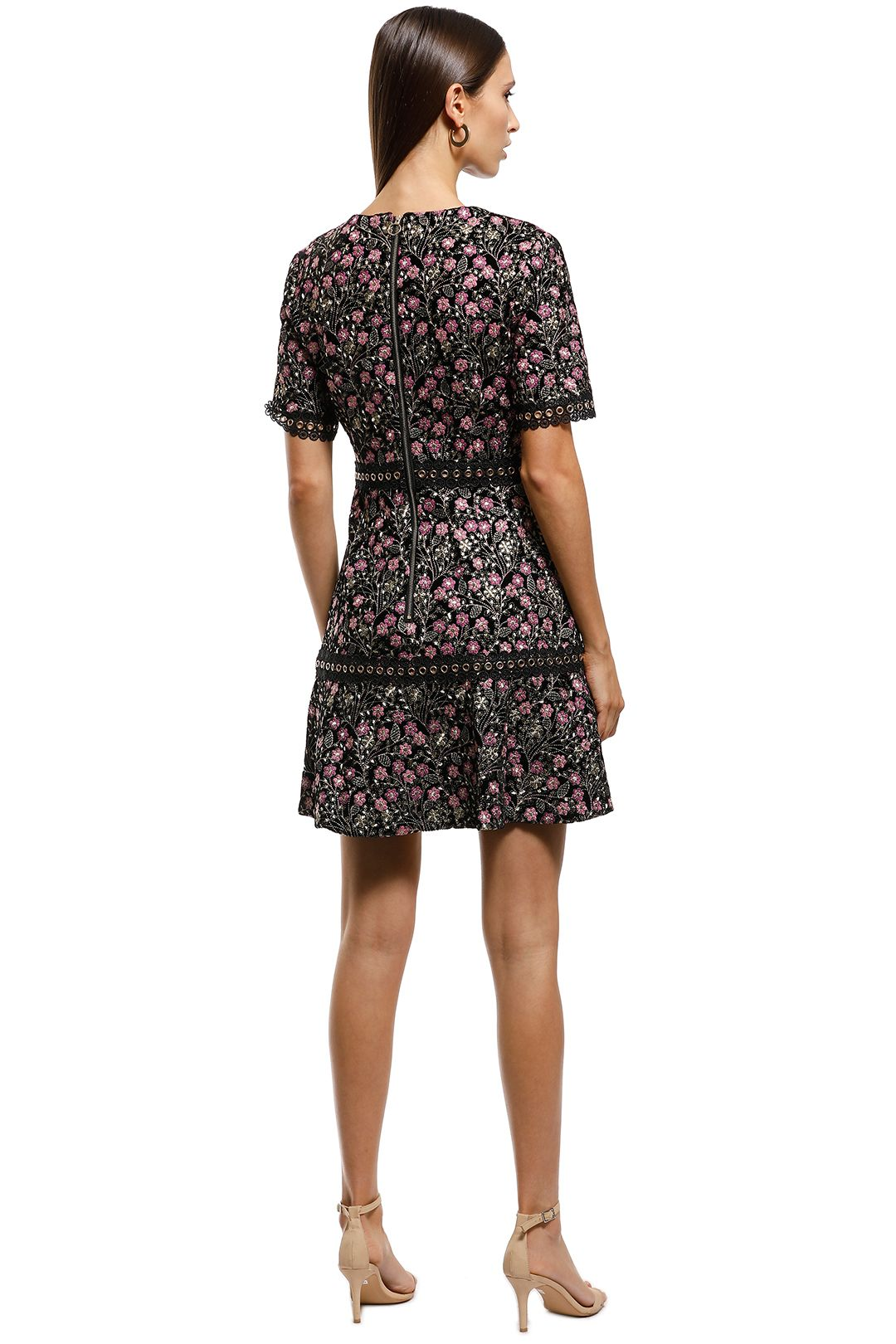 Elliatt - Icon Dress - Floral - Back