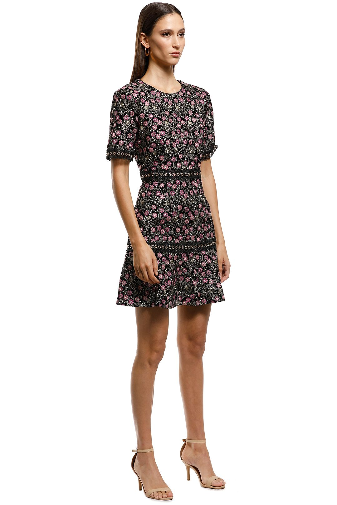 Elliatt - Icon Dress - Floral - Side