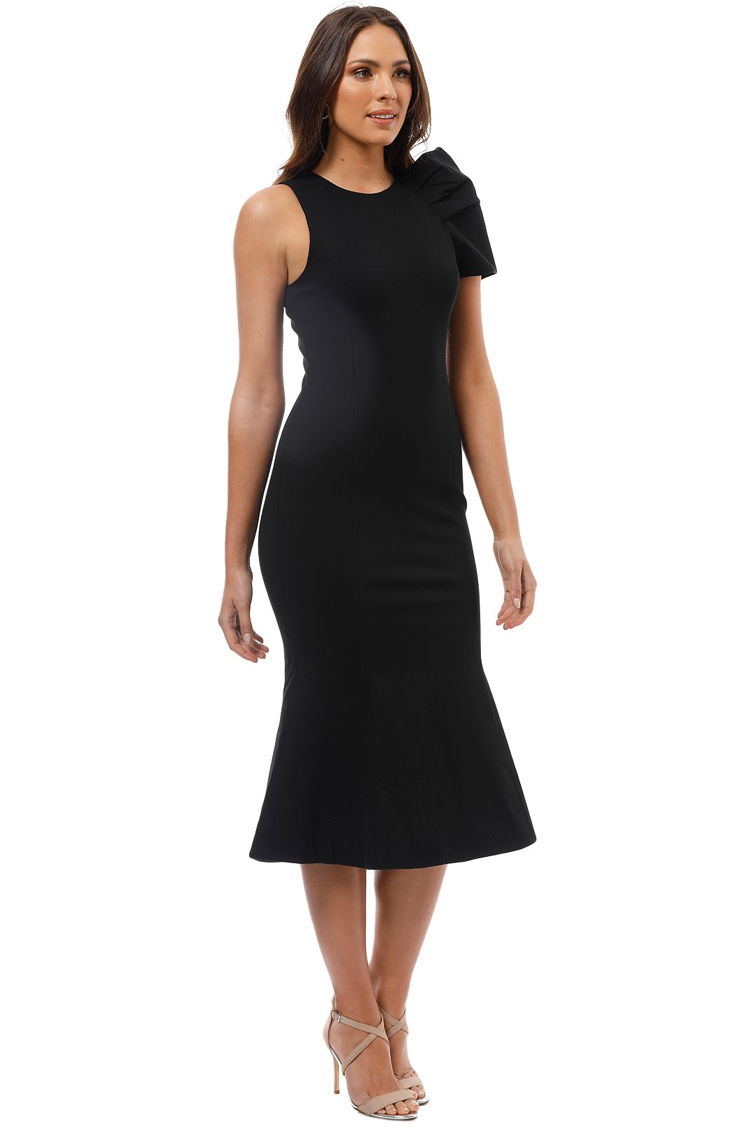 Elliatt - Imperial Dress - Black - Side