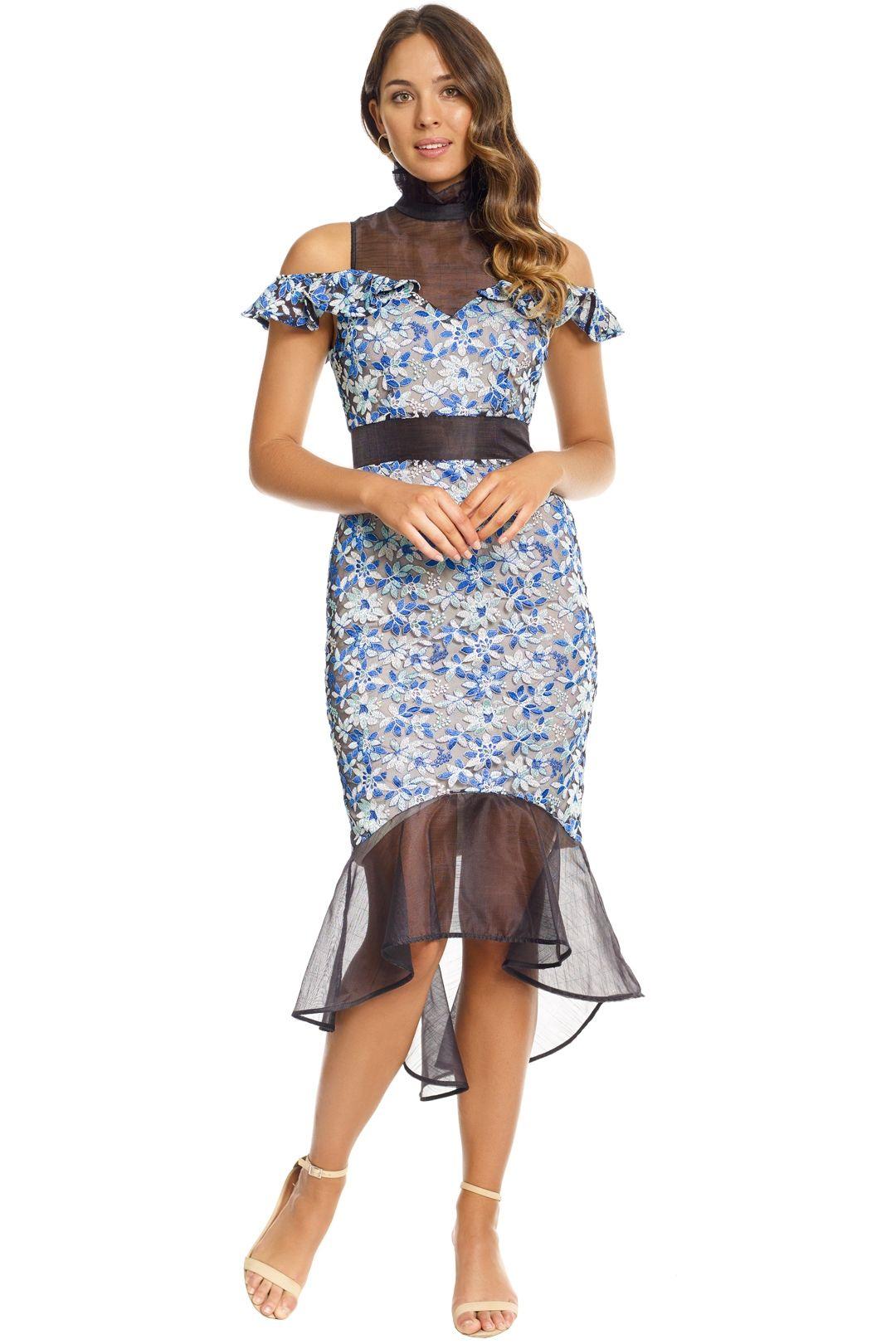 Elliatt - Juliet Dress - Blue - Front