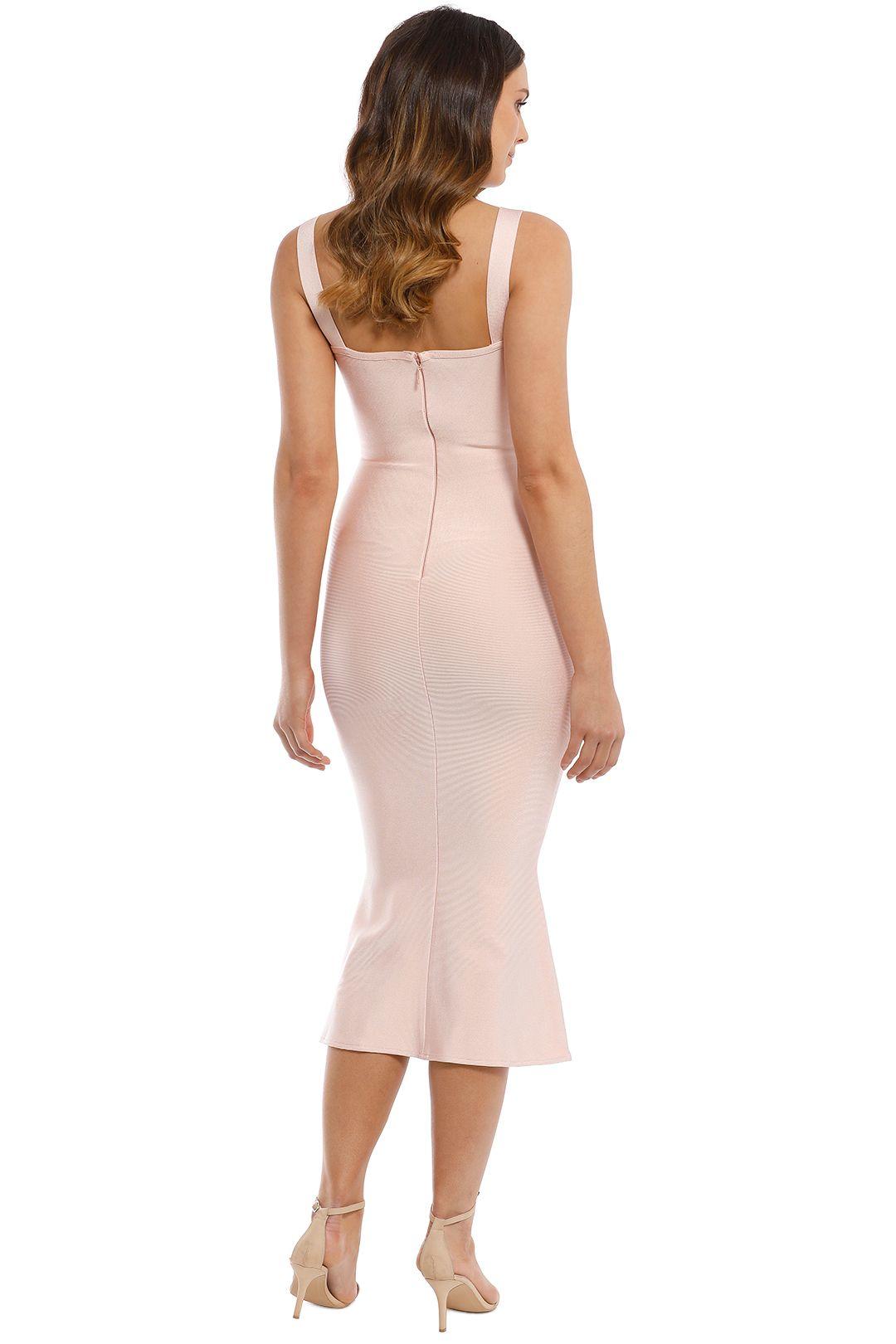 Elliatt - Kim Dress - Blush - Back