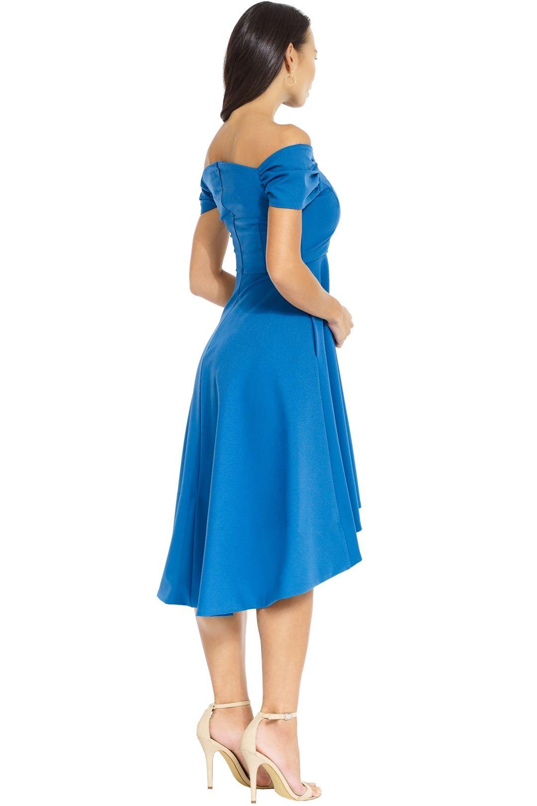 Elliatt - Palace Dress - Blue - Back