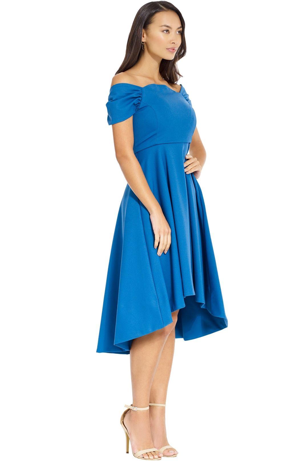 Elliatt - Palace Dress - Blue - Side