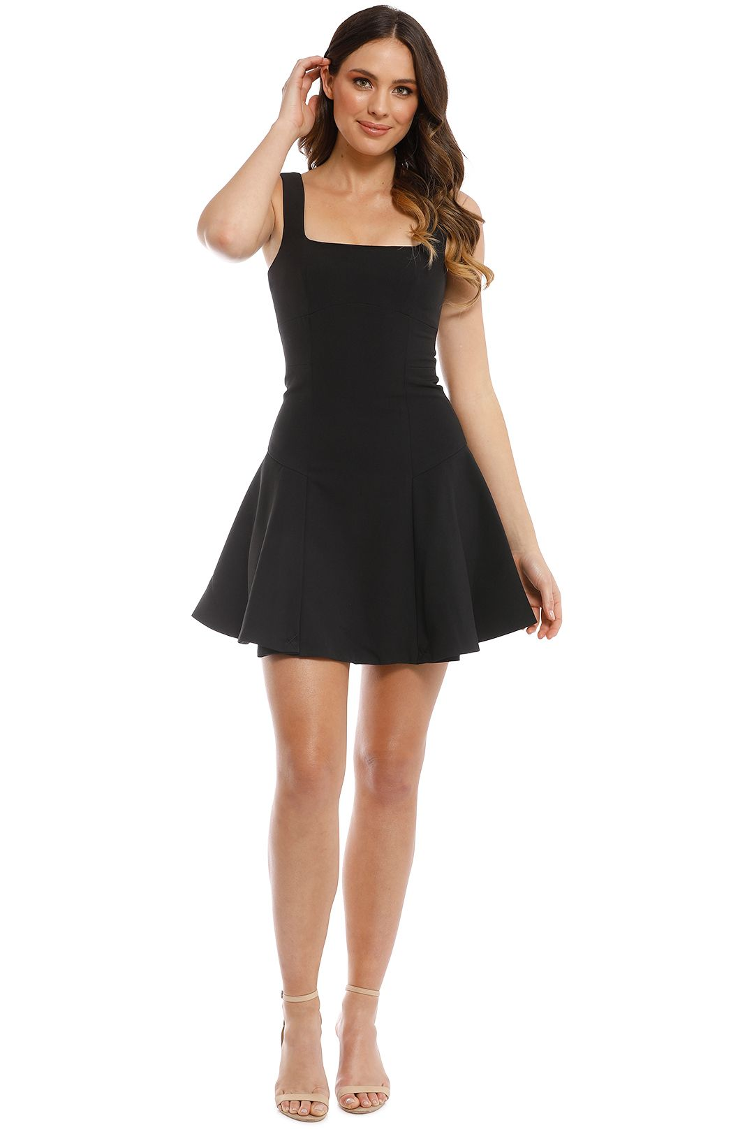 Elliatt - Pavia Dress - Black - Front