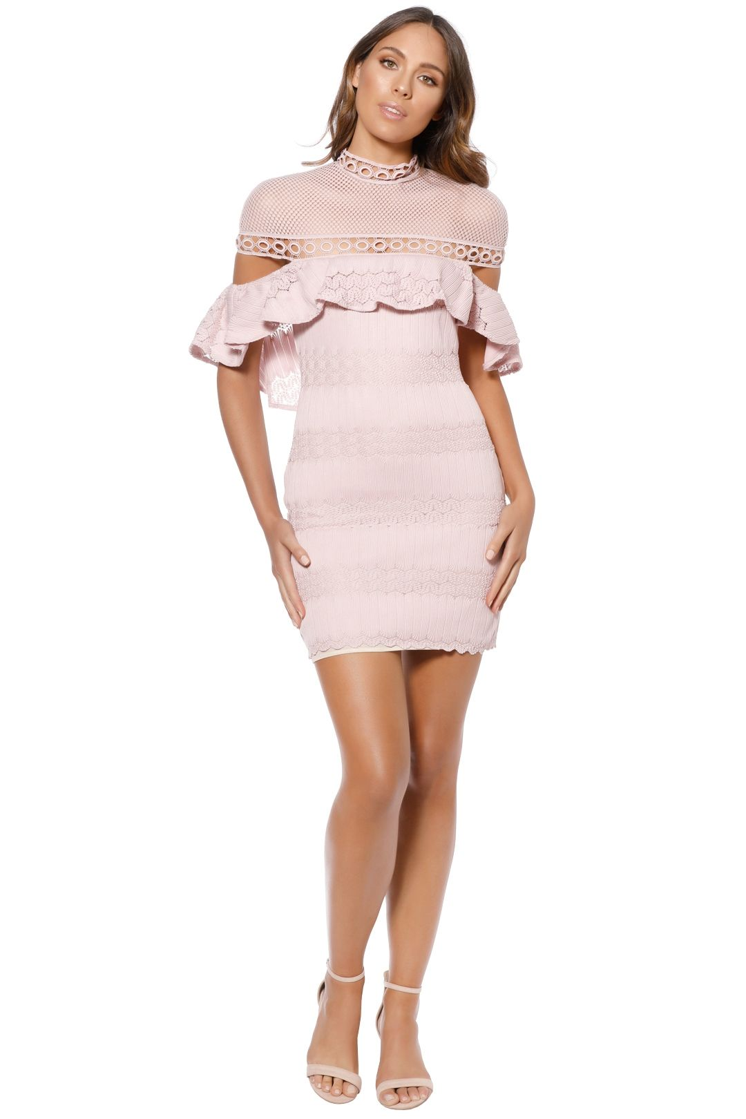 Elliatt - Pinnacle Dress - Pink - Front