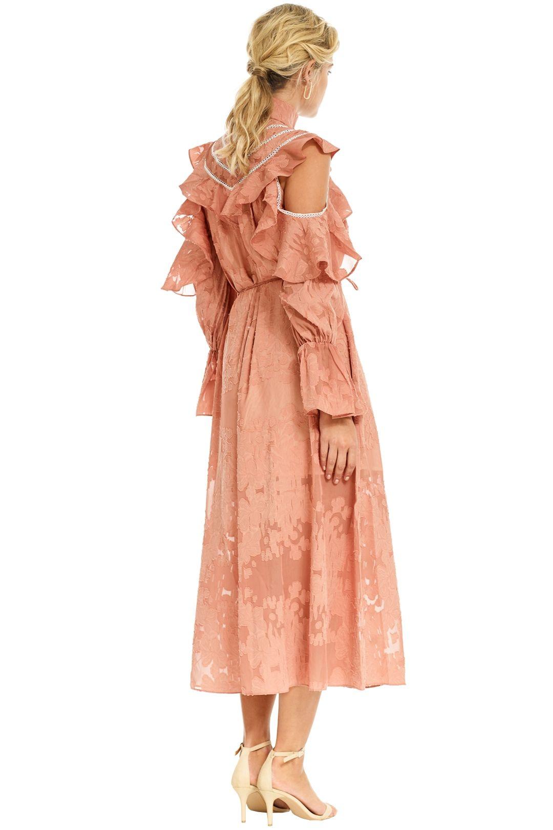 Elliatt - Robin Dress - Salmon - Back