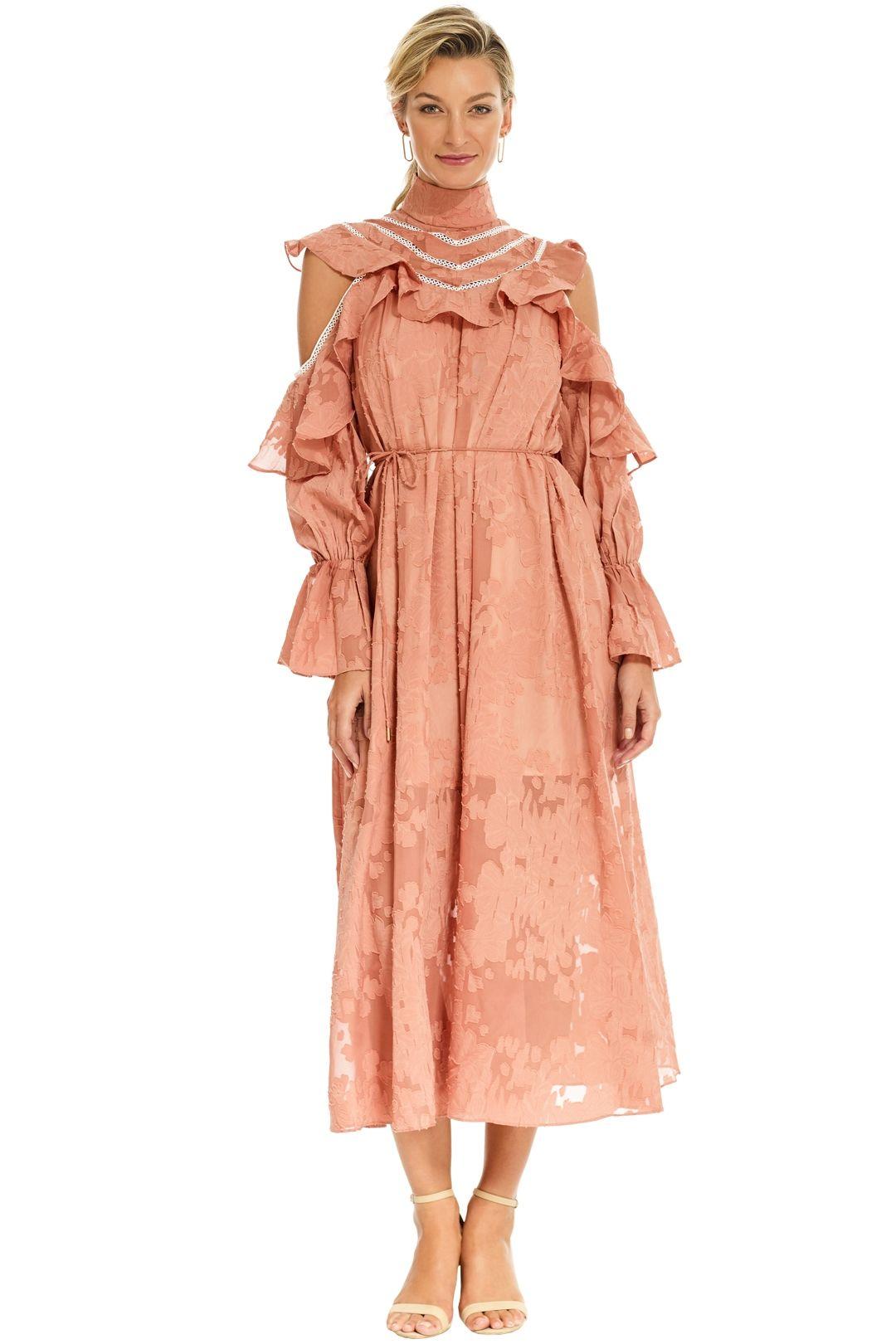 Elliatt - Robin Dress - Salmon - Front