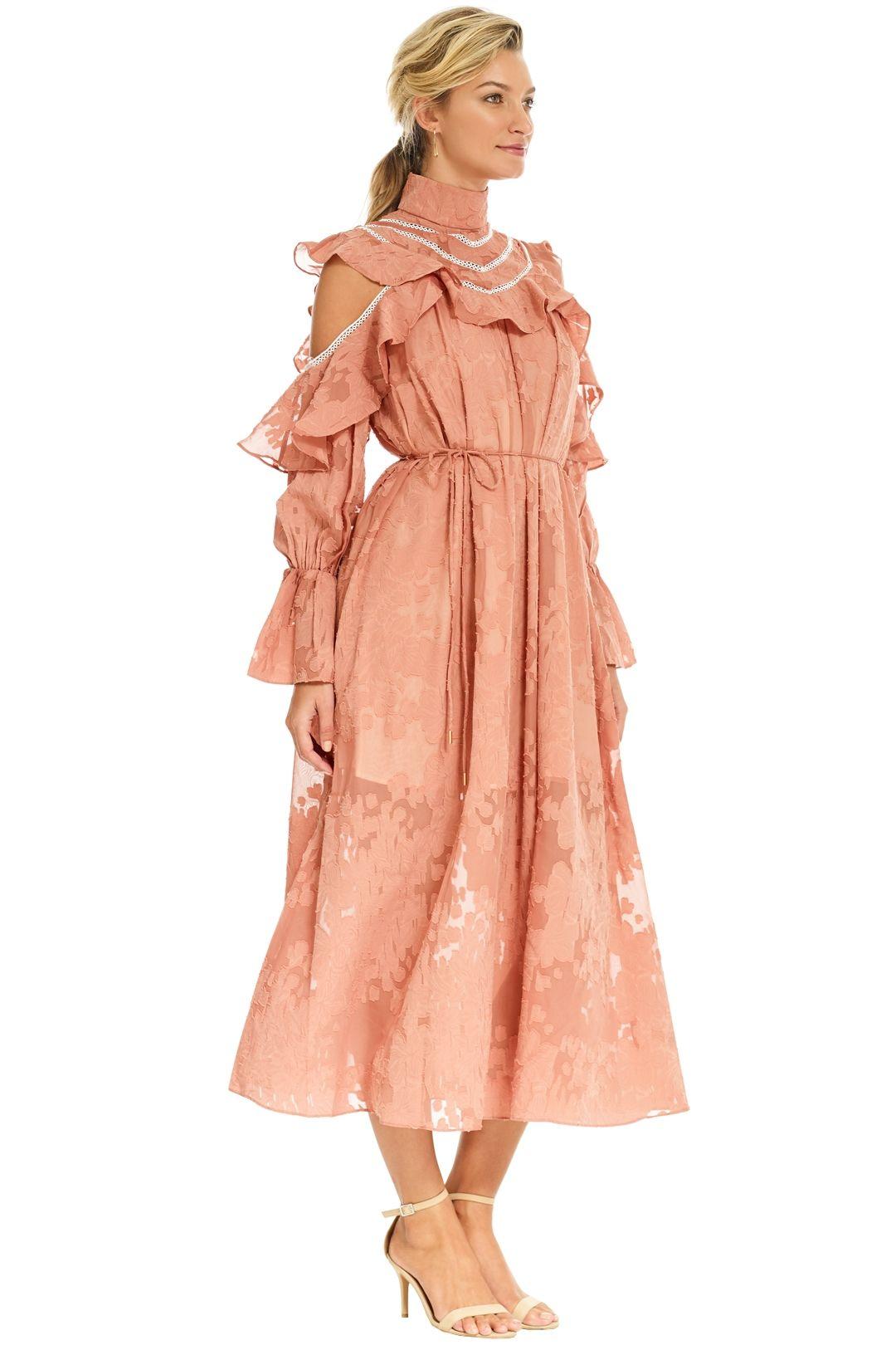 Elliatt - Robin Dress - Salmon - Side