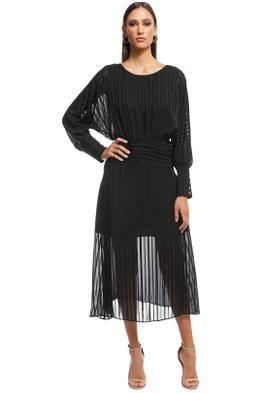 Elliatt - Runway Dress - Black - Front